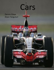 Cars - the Scientia Review