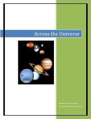 Across the Universe - the Scientia Review