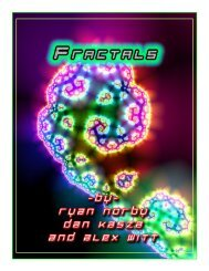 Fractals - the Scientia Review