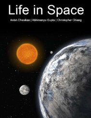 Life in Space - the Scientia Review