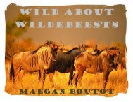 Wild about Wildebeests - the Scientia Review