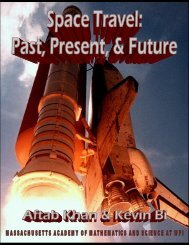 Space Travel: Past, Present, and Future - the Scientia Review
