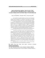 researches regarding the use of cone penetration ... - Scientific Bulletin