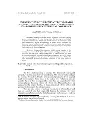 an extraction of the dominant rotor-stator ... - Scientific Bulletin