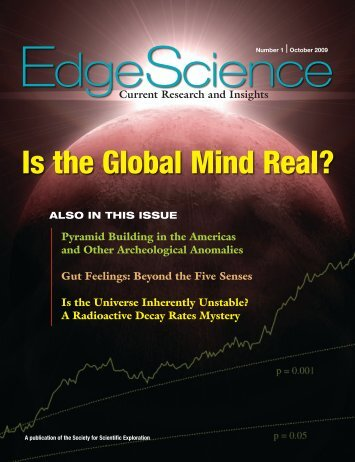Is the Global Mind Real? - Society for Scientific Exploration