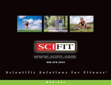Scientific Solutions for Fitness TM - SciFit