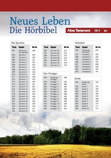 Tracklist Cd 5.pdf - SCM R.Brockhaus