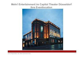Eventmappe Düsseldorf (Stand 17.05.10) - Capitol Theater