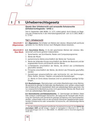 Jahrbuch 2003/2004 - Urheberrechtsgesetz
