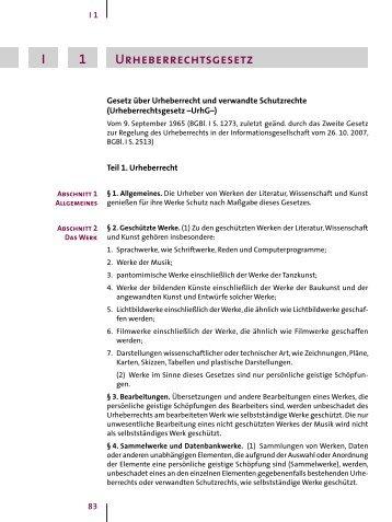 Urheberrechtsgesetz [UrhG]