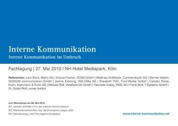Tagungsprogramm | PDF - SCM