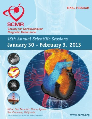 Scientific Sessions - Society of Cardiovascular Magnetic Resonance
