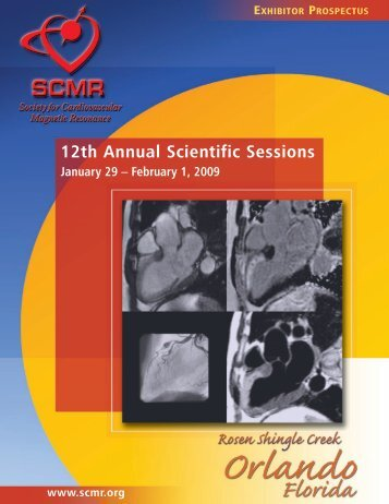 12th Annual Scientific Sessions - Society of Cardiovascular ...