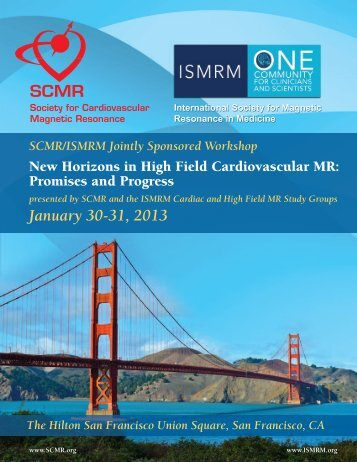 January 30-31, 2013 - Society of Cardiovascular Magnetic Resonance