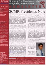 scmr newsletter 2-2012.cdr - Society of Cardiovascular Magnetic ...