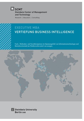EXECUTIVE MBA VERTIEFUNG BUSINESS INTELLIGENCE - SCMT