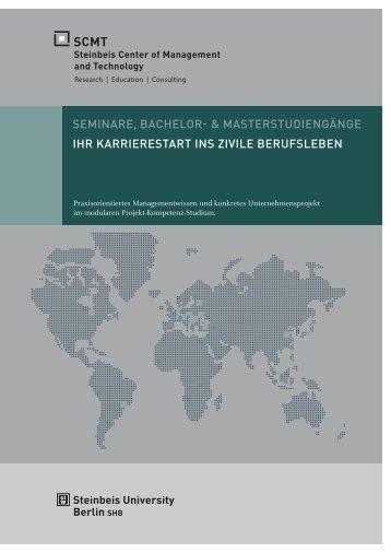 SEMINARE, BACHELOR- & MASTERSTUDIENGäNGE IHR ... - SCMT