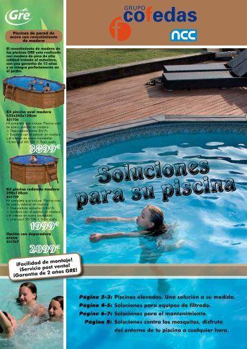 Soluciones para su piscina - Cofedas