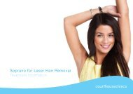 Soprano for Laser Hair Removal Treatment Information