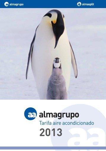 Almagrupo - Tarifa Aire Acondicionado 2013 - Fontgas