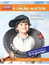 Katalog als PDF downloaden - Kleine Zeitung Auktion