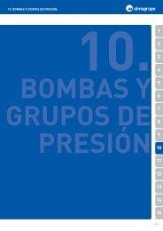 10. BOMBAS Y GRUPOS DE PRESIÓN. - Fontgas