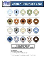 Cantor Prosthetic Lens
