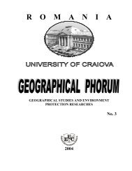 Revista Forum Geografic 2004 - Universitatea din Craiova