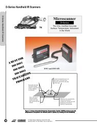 D-Series IR Thermometers - Exergen Corporation