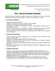 ING. CARLOS WAGNER WAGNER - Diocesis de Texcoco