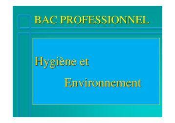 Hygiène et Environnement - SBSSA Rouen