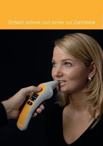 Einfach schnell und sicher zur Zahnfarbe