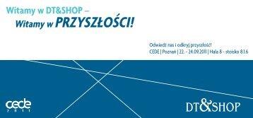 CEDE | Poznań | 22. - 24.09.2011 | Hala 8 - DT & Shop