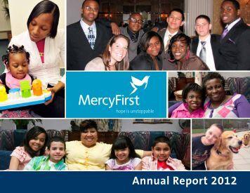 Annual Report 2012 - MercyFirst
