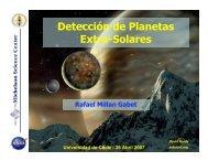 Detección de Planetas Extra-Solares
