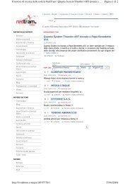 Pagina 1 di 2 Il motore di ricerca delle notizie RedTram | Quanta ...