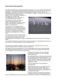 Hanse-Cup 2009 - SCNS Segelclub Nordsaar e.V.