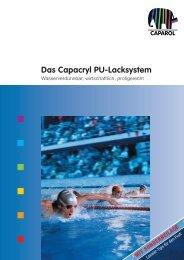 Das Capacryl PU-Lacksystem - Caparol