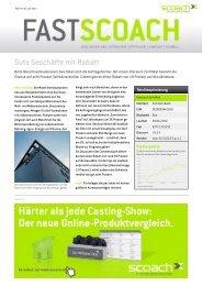 Gute Geschäfte mit Rabatt - Scoach Europa AG