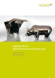 Hebelprodukte – Optionsscheine und Knock-outs - Scoach Europa AG