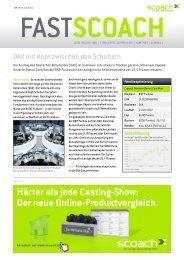 DAX mit Kopf zwischen den Schultern - Scoach Europa AG
