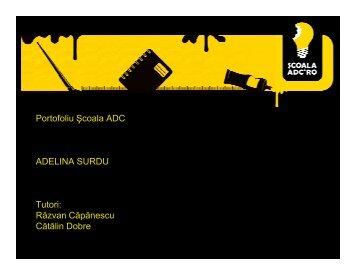 Adelina Surdu - Scoala ADC*RO