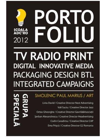 Paul Marius Smolenic - Scoala ADC*RO