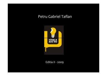 Gabriel Taflan.pdf - Scoala ADC*RO