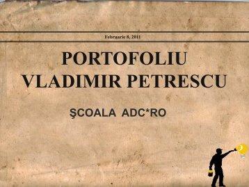 Vladimir Petrescu - Scoala ADC*RO