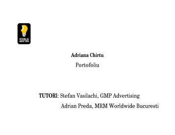 Adriana Chirtu - Scoala ADC*RO