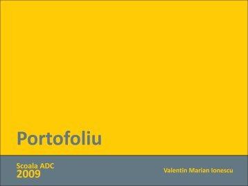Valentin Marian Ionescu - Scoala ADC*RO