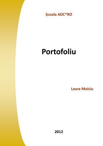 Laura Moisiu - Scoala ADC*RO