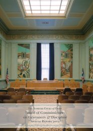 Board of Commissioners on Grievances & Discipline Annual Report ...