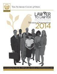 Mentor Orientation - Supreme Court